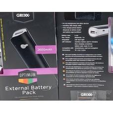 Grixx Optimum PowerBank 2600 mAh