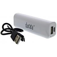 Durata Powerbank 2600mAh - White (DR-P26)