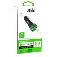 Durata Auto Charger  5.1A Lightning (DR-C501)