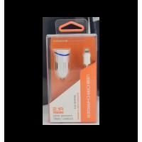 Xssive autolader met iphone kabel 2.1A