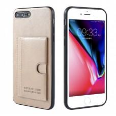 Premium Card Bag Apple iPhone 7/8 Plus Goud