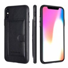 Premium Card Bag Apple iPhone 7/8 Plus Zwart